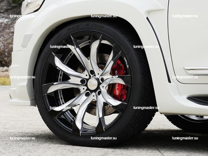 Аэродинамический обвес Wald Sports Line для Toyota Land Cruiser 200