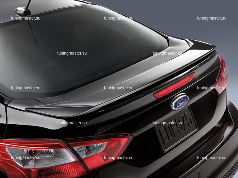 Спойлер на крышку багажника Ford Focus 3 OEM Style