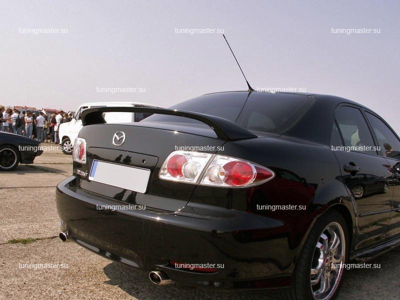 Спойлер на крышку багажника Mazda 6 (стоп сигнал)