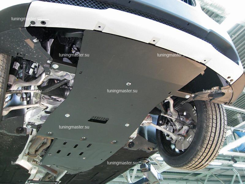 Защита картера и КПП BMW X1 E84
