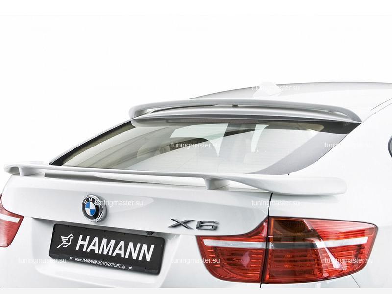 Козырек на заднее стекло BMW X6 (E71) HAMANN