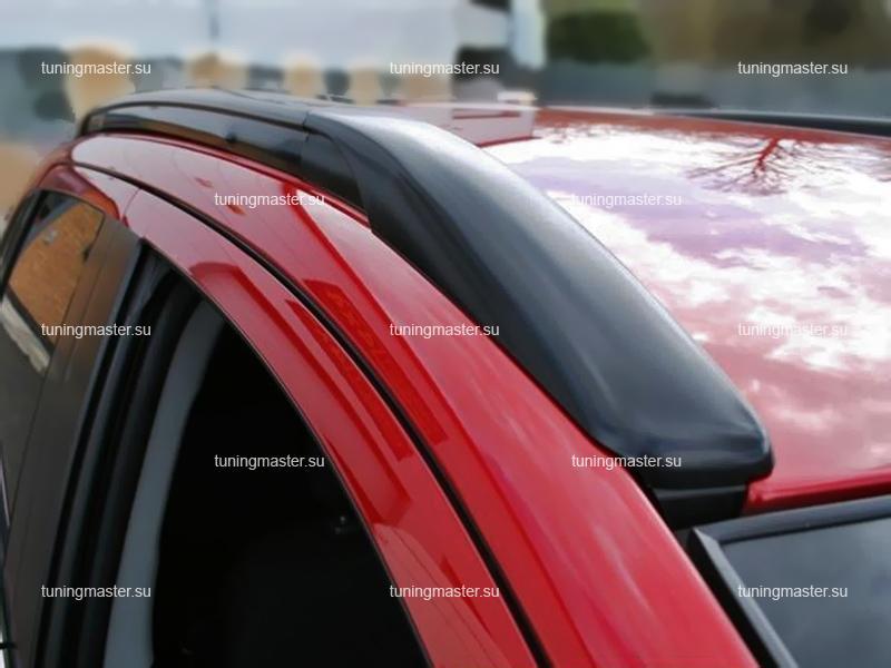 Рейлинги на крышу Mitsubishi ASX (черные)