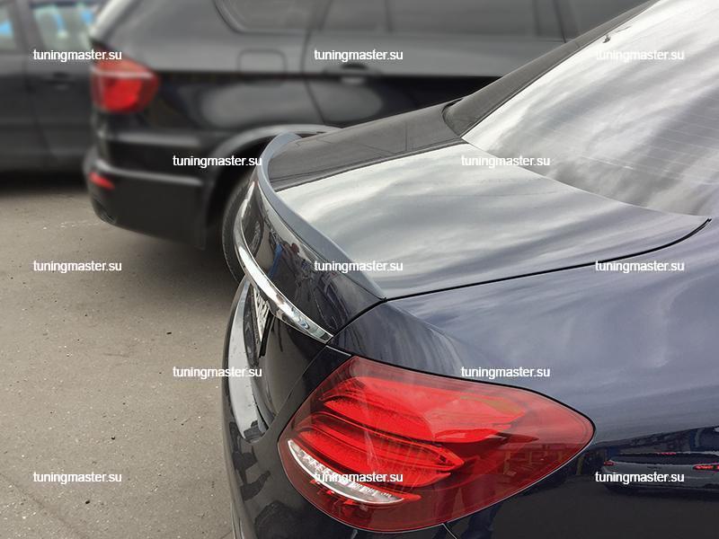Спойлер на крышку багажника Mercedes Benz E-Class W213 AMG Style