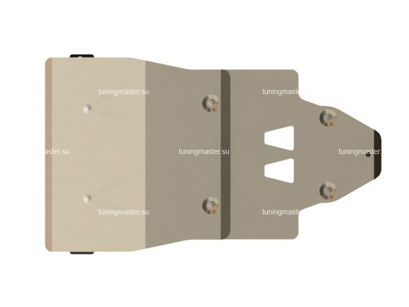 Защита картера и КПП Audi A6 (алюминий)