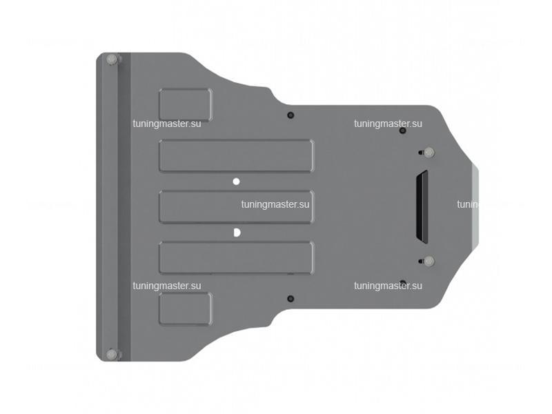 Защита картера и КПП Audi Q5 (алюминий)