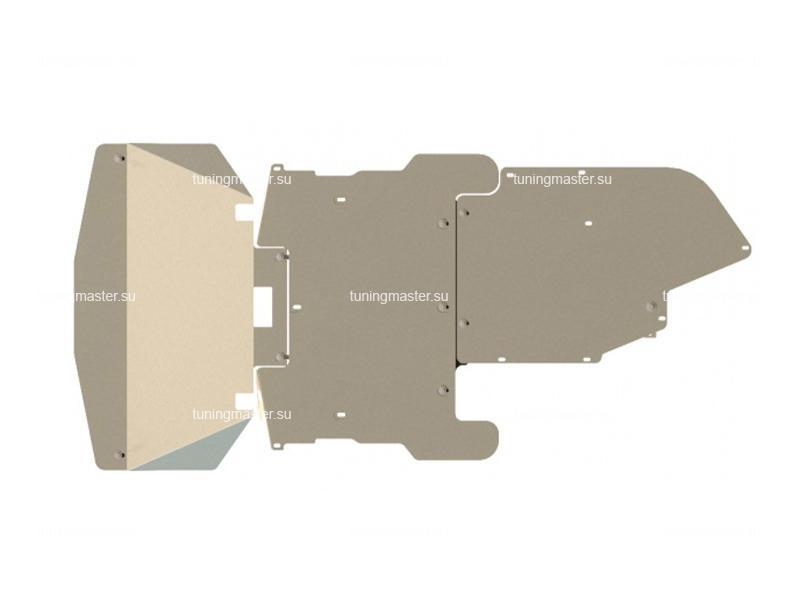 Защита картера и КПП BMW 5 Е60-E61 (алюминиевая)
