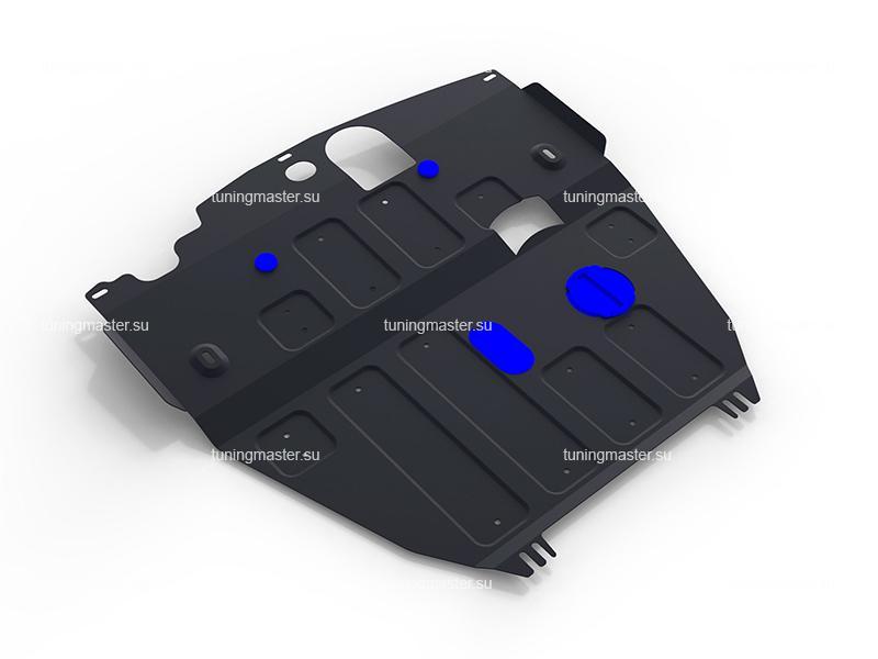 Защита картера и КПП Chevrolet Captiva (большая)