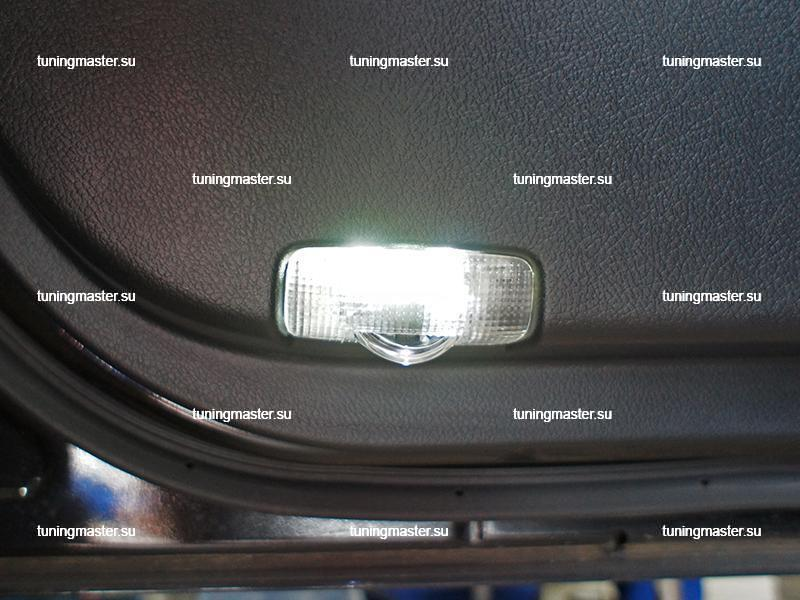LED проектор дверной с логотипом Toyota