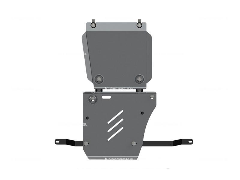 Защита КПП и РК Jeep Grand Cherokee (алюминиевая)