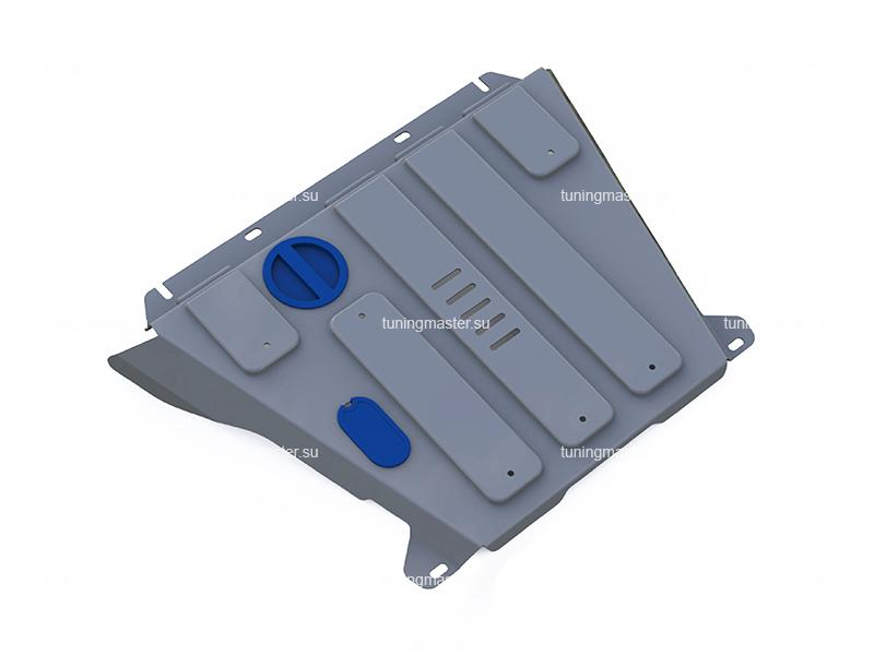 Защита картера и КПП Ford Explorer (алюминиевая)