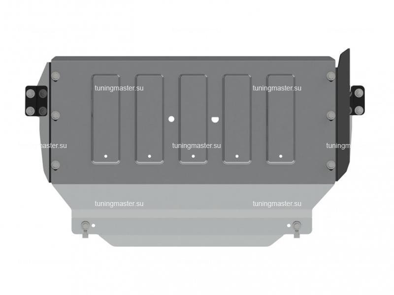 Защита картера и КПП Ford Transit (задний привод) алюминиевая