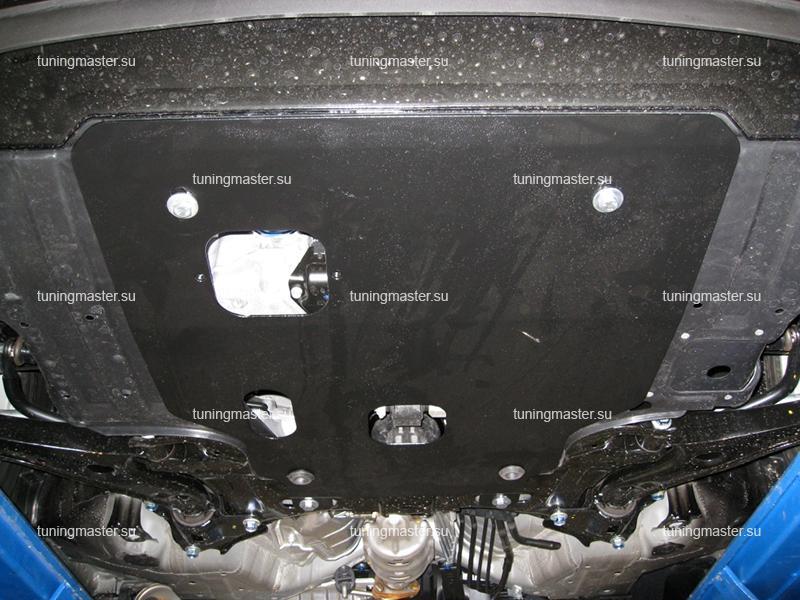 Защита картера и КПП Honda Jazz 2