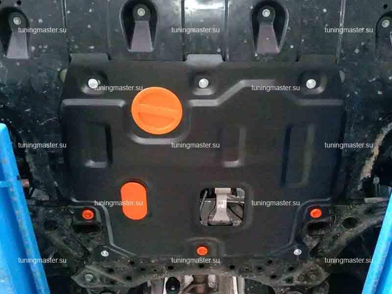Защита картера и КПП Hyundai Elantra AD