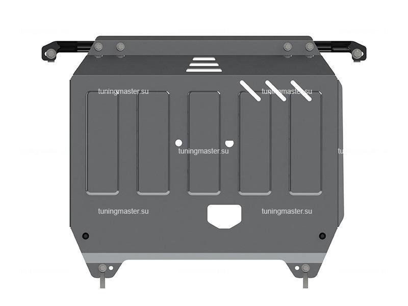 Защита картера и КПП Kia Rio 3 (алюминиевая)