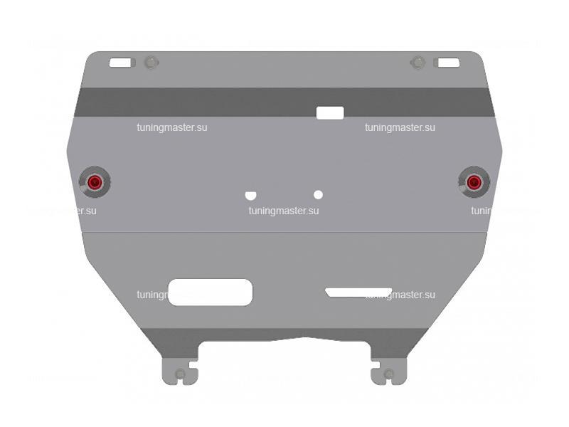 Защита картера и КПП Ford Mondeo (алюминиевая)