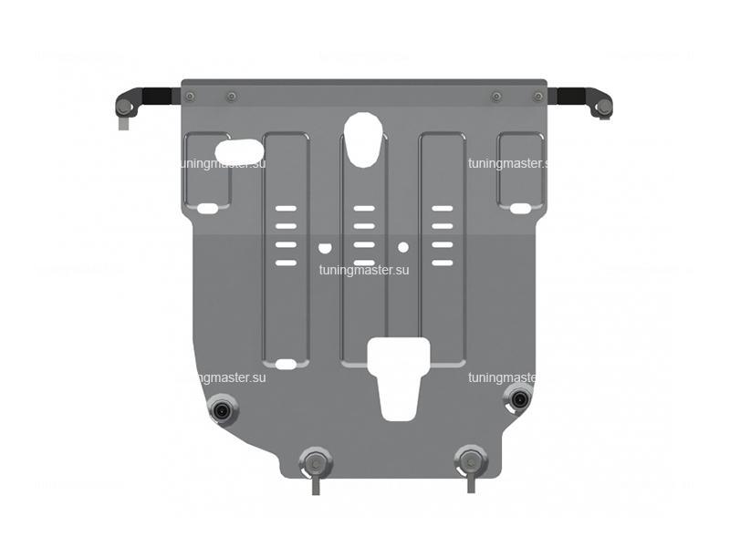 Защита картера и КПП Hyundai Solaris (алюминиевая)