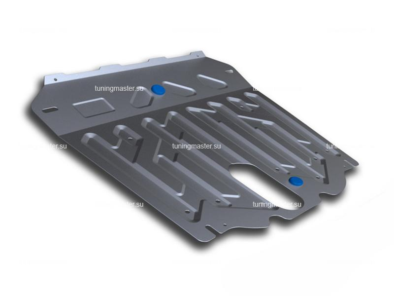 Защита картера и КПП Hyundai Santa Fe (алюминиевая)