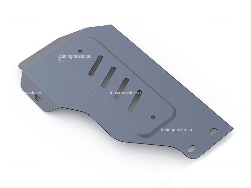 Защита заднего редуктора Kia Sorento Prime (алюминиевая)