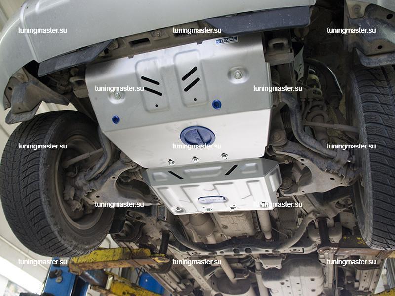 Защита радиатора Lexus GХ460 (алюминиевая)