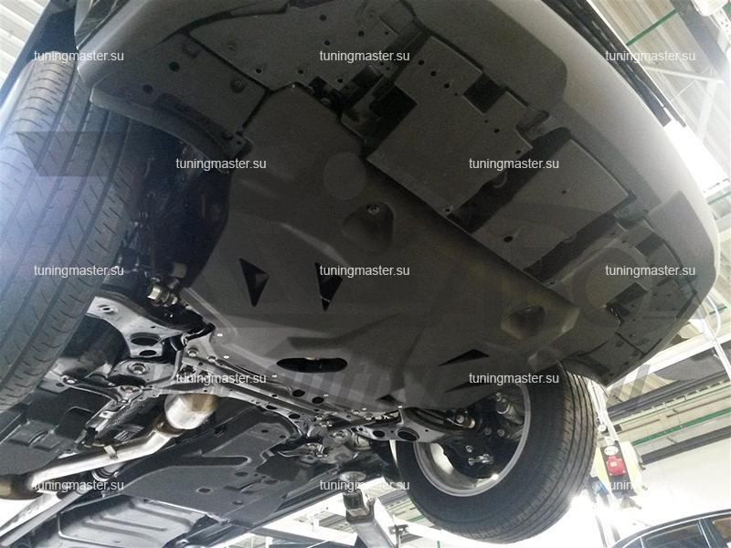 Композитная защита картера и КПП Lexus NX
