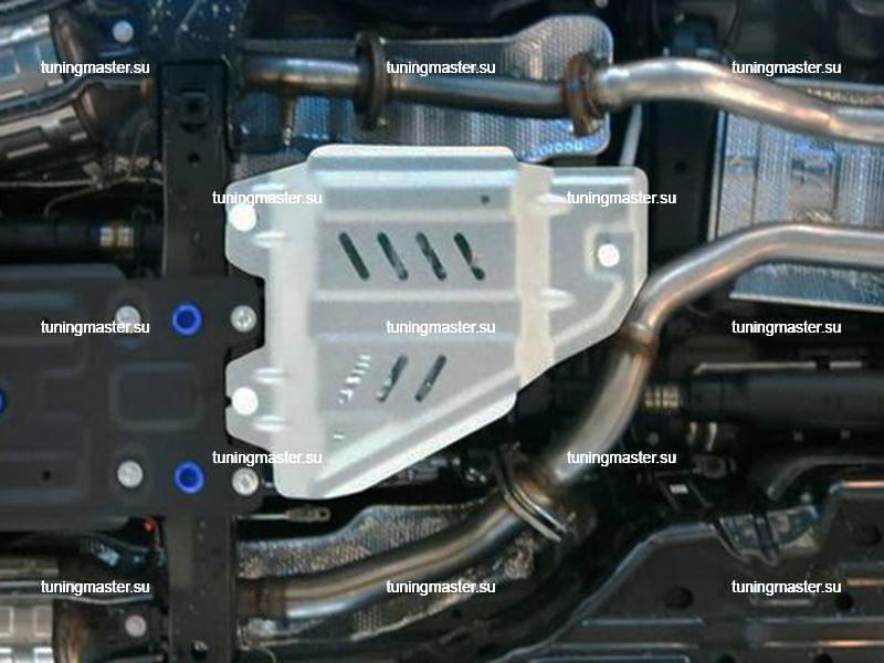 Защита раздаточной коробки Lexus LX570 (алюминиевая)