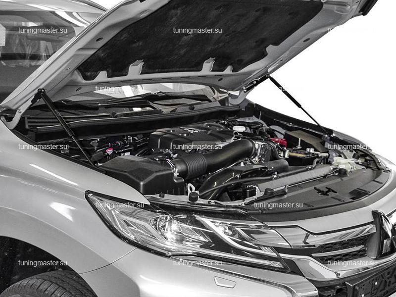 Газовые амортизаторы капота для Mitsubishi Pajero Sport 3