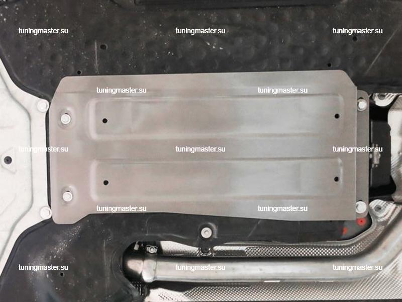 Защита АКПП Mercedes Benz E-Class W213 (алюминиевая) полный привод