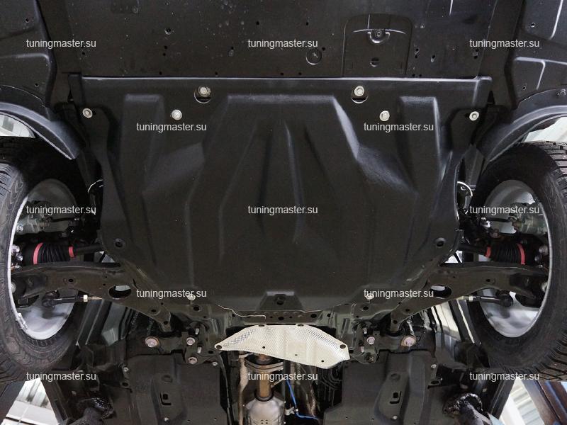Композитная защита картера и КПП Mazda 6