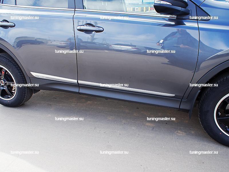 Молдинги боковые Toyota RAV4
