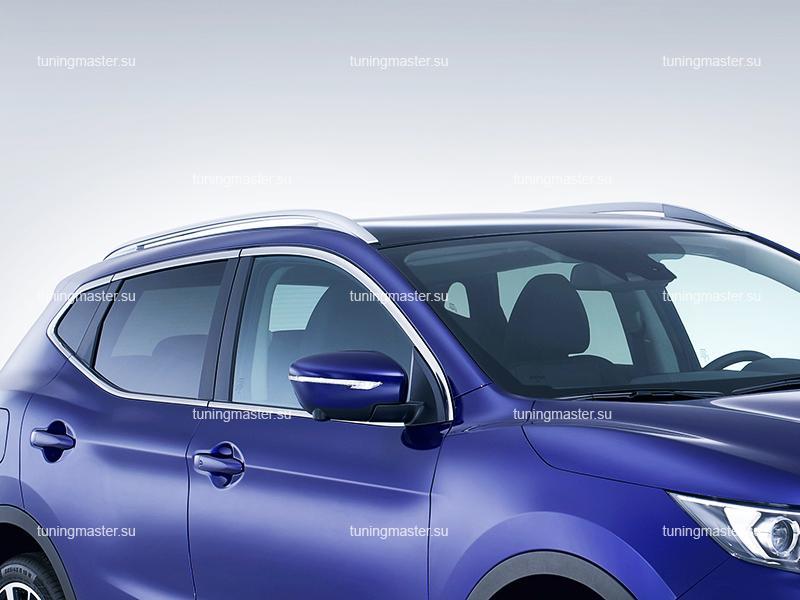 Рейлинги на крышу Nissan Qashqai J11