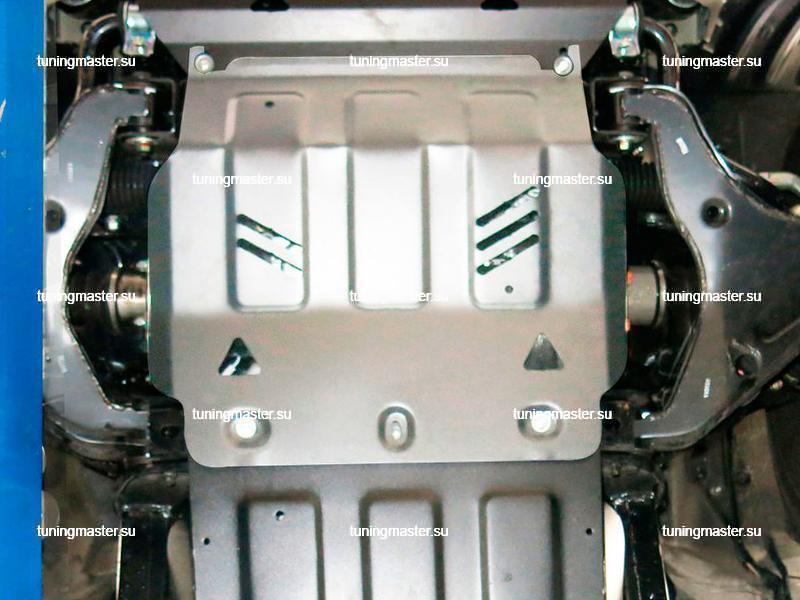 Защита картера Mitsubishi L200 (алюминиевая)