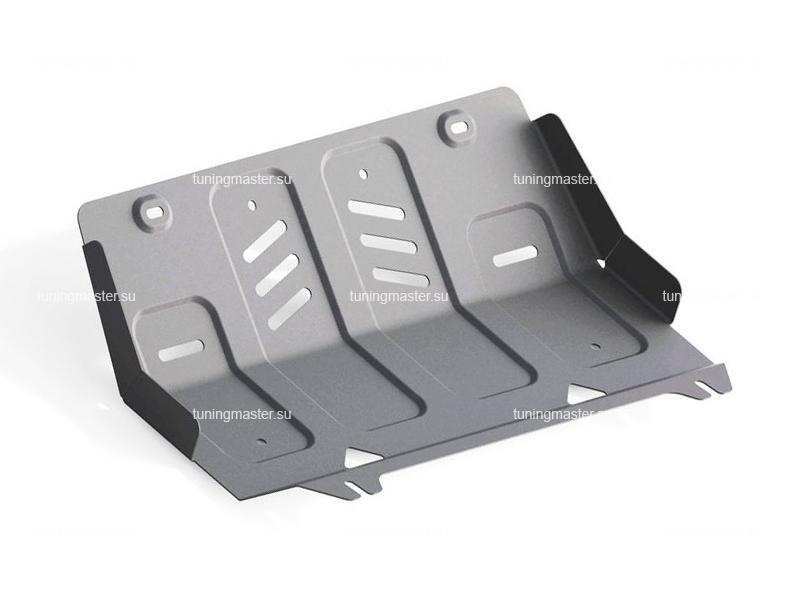 Защита радиатора Mitsubishi L200 (алюминиевая)