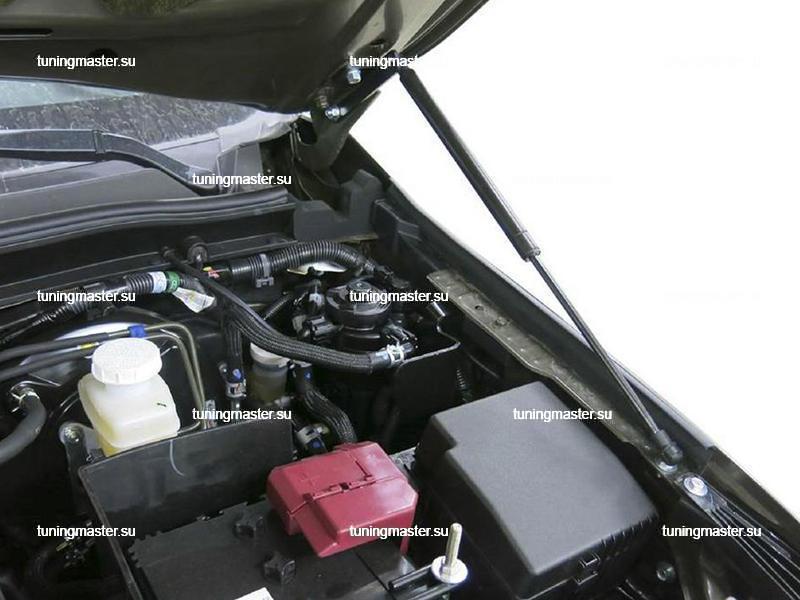 Газовые амортизаторы капота для Mitsubishi Pajero Sport