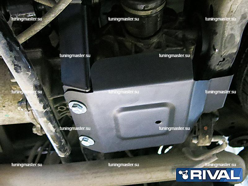 Защита заднего редуктора Nissan Murano Z52
