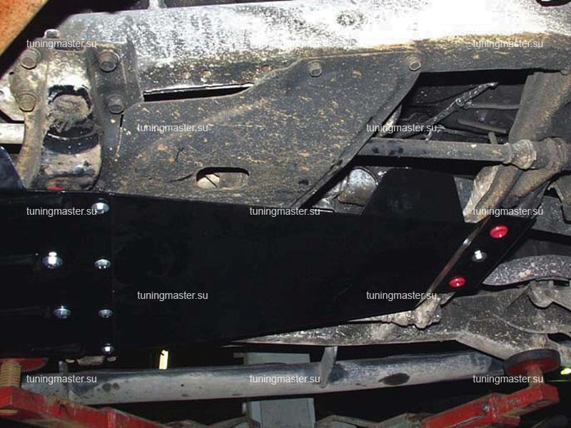 Защита КПП Mitsubishi Pajero Sport