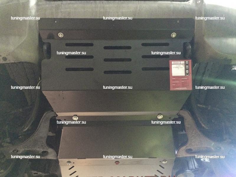 Защита картера Mitsubishi Pajero 3