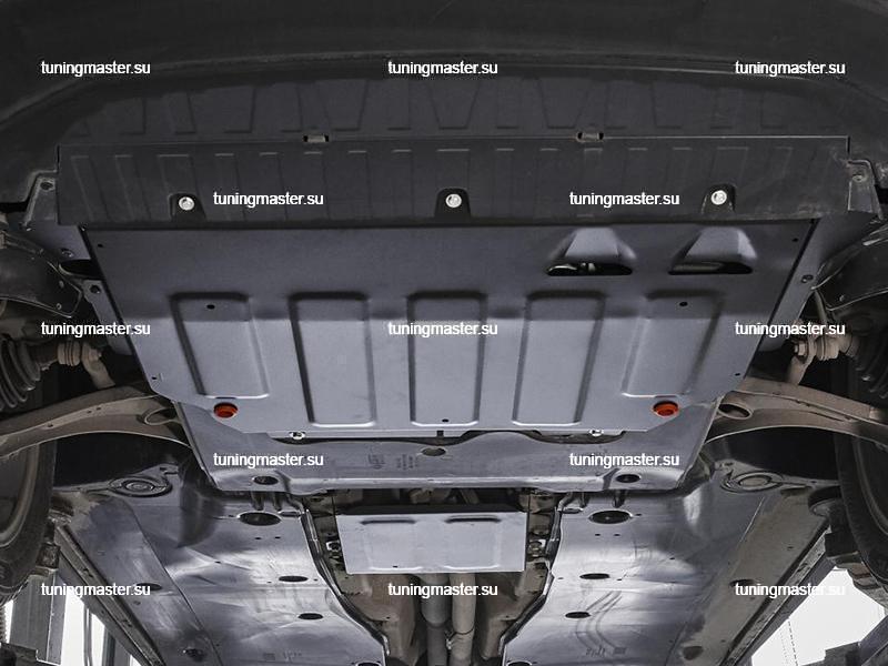 Защита картера и КПП Volkswagen Tiguan
