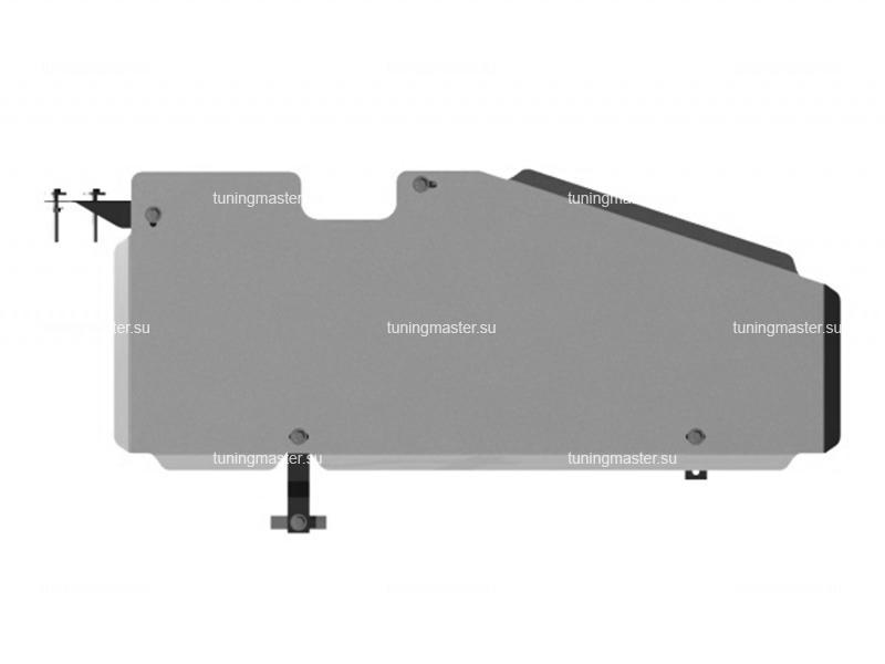 Защита топливного бака Nissan Pathfinder (алюминиевая)