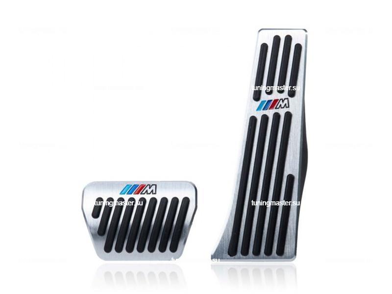 Накладки на педали BMW с логотипом M (premium)