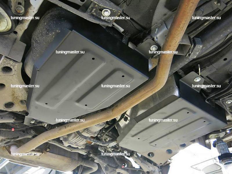 Защита топливного бака Nissan Murano Z52
