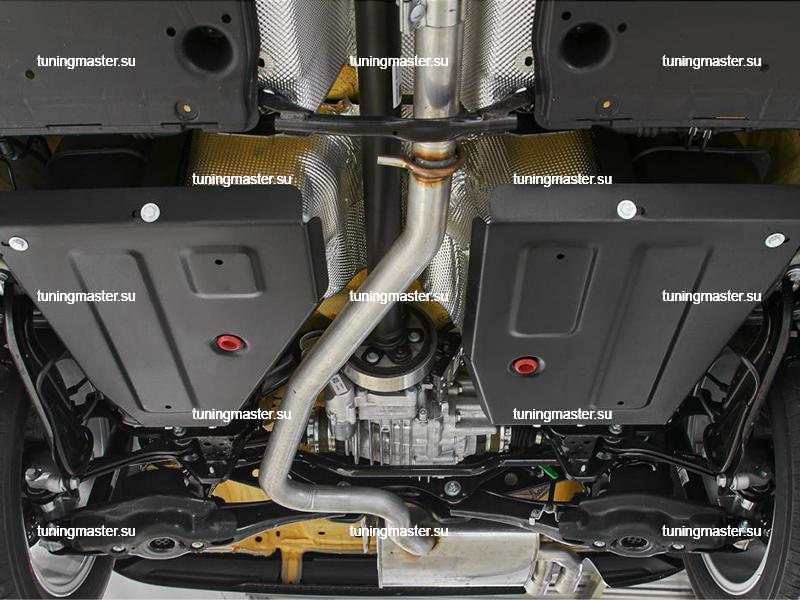 Защита топливного бака Volkswagen Tiguan