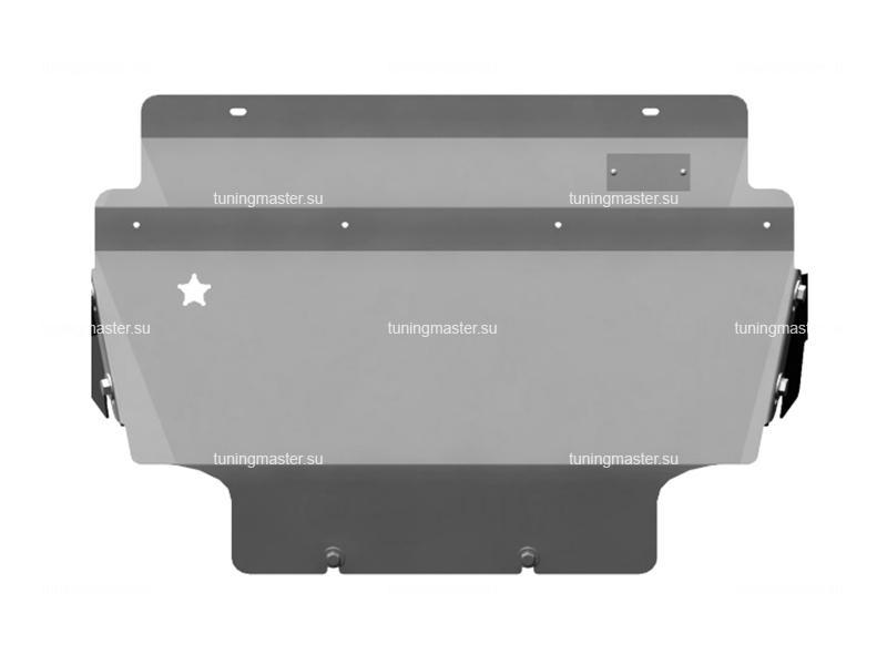 Защита радиатора Nissan Navara (алюминиевая)
