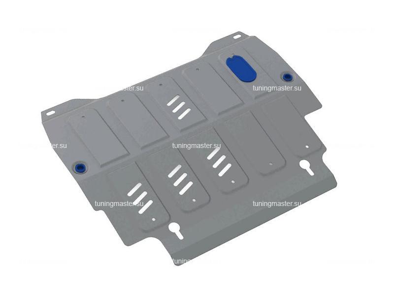 Защита картера и КПП Nissan Pathfinder (алюминиевая)