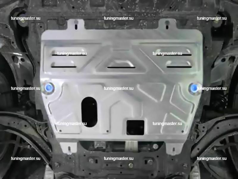 Защита картера и КПП Nissan Qashqai J10 (алюминиевая)