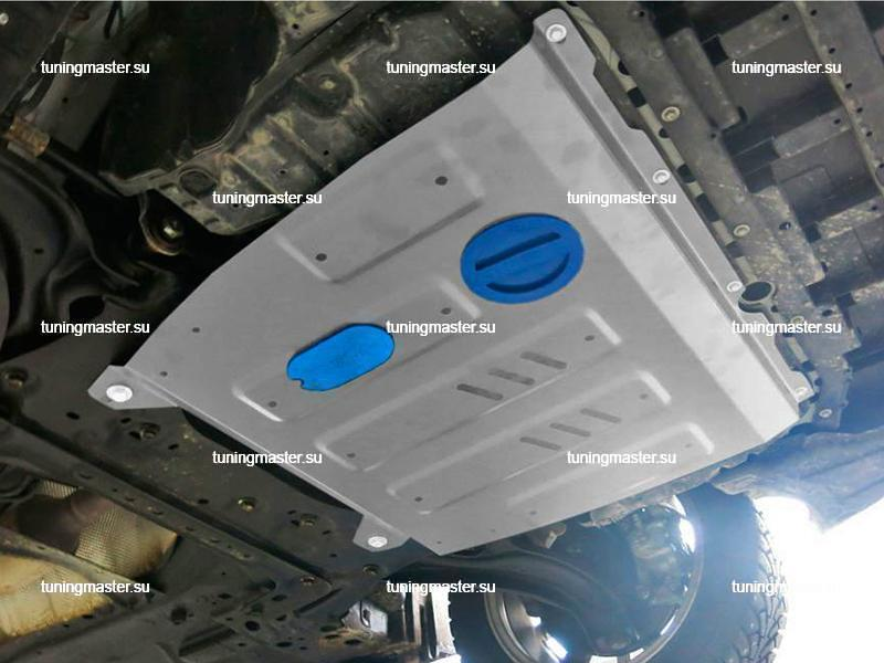 Защита картера и КПП Nissan Sentra (алюминиевая)