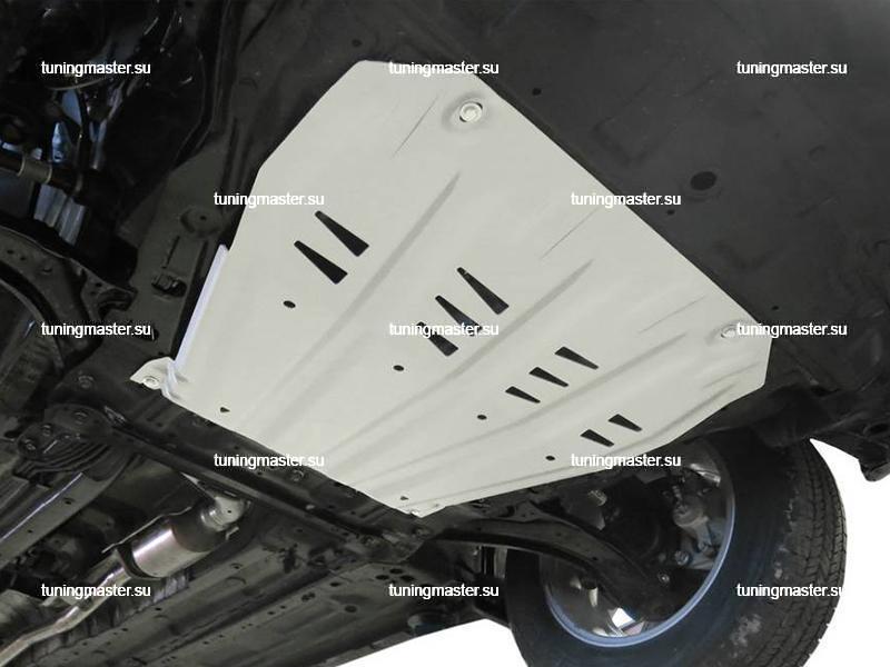 Защита картера и КПП Nissan Qashqai J11 (алюминиевая)
