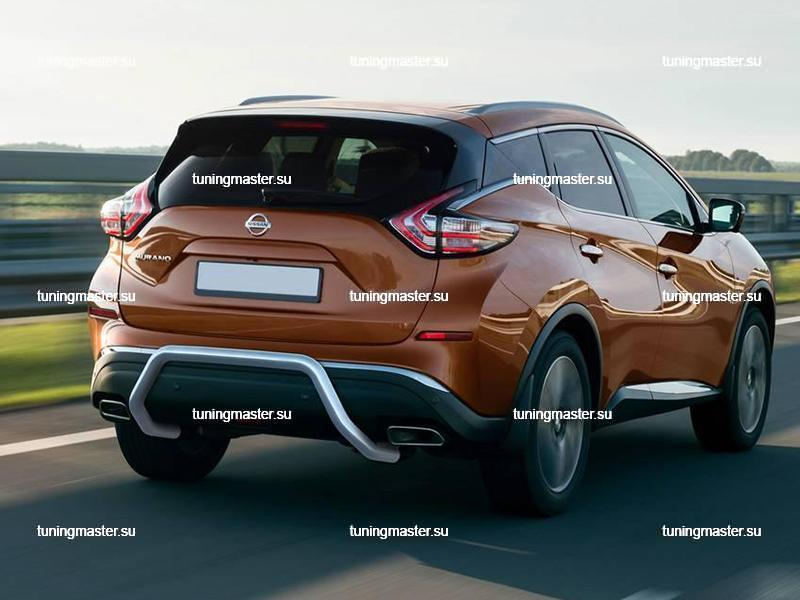 Защита заднего бампера Nissan Murano скоба Ø57
