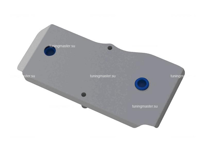 Защита заднего редуктора Nissan X-Trail T31 (алюминиевая)