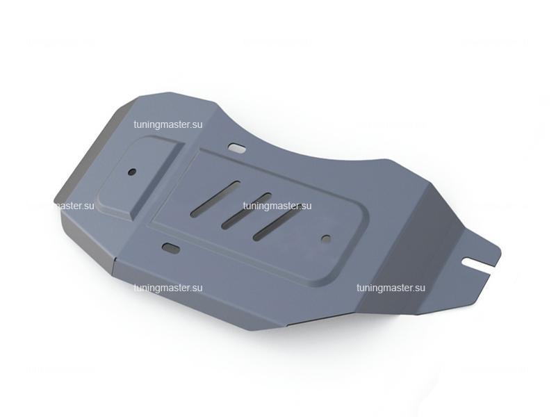 Защита заднего редуктора Nissan X-Trail T32 (алюминиевая)