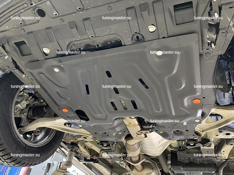 Защита картера и КПП Nissan Teana